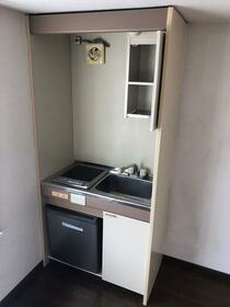 ウィズスペース和ヶ原 B108号室のキッチン