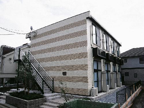 レオパレスヴィラ天城 203号室の外観