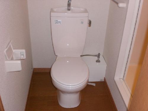 レオパレスガーデンプレイス 108号室のトイレ