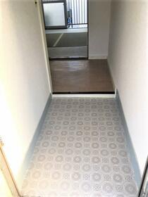 いわき荘 201号室の玄関