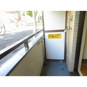 セントヒルズ一ツ橋学園 0104号室のバルコニー