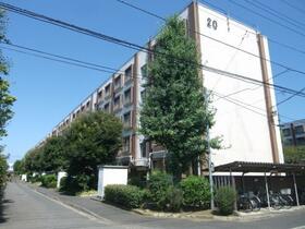 久米川駅東住宅20号棟の外観