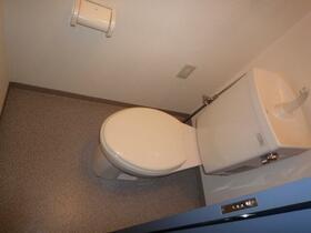 メゾンドプレステージ 106号室のトイレ