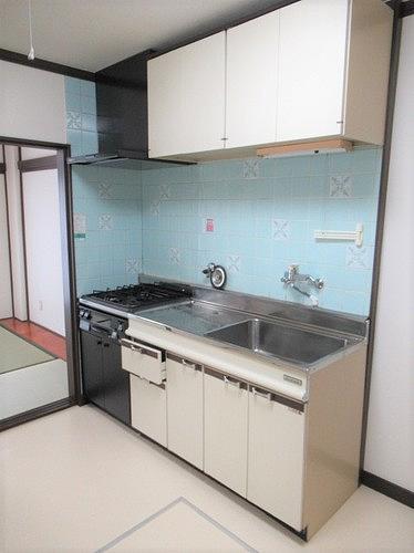 武蔵野サンハイツ滝山パート1 103号室のキッチン