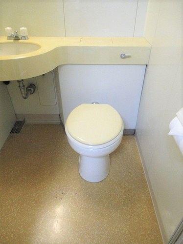武蔵野サンハイツ滝山パート1 103号室のトイレ