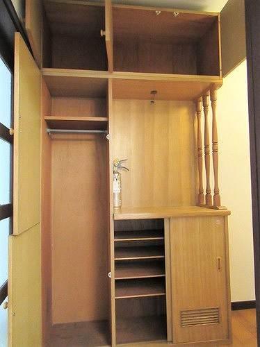 武蔵野サンハイツ滝山パート1 103号室の収納