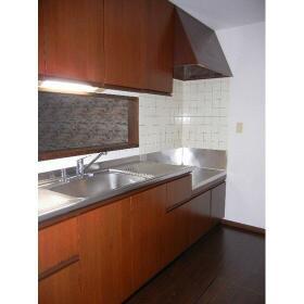 プロミネントⅢ 103号室のキッチン
