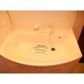 プロミネントⅢ 103号室の洗面所