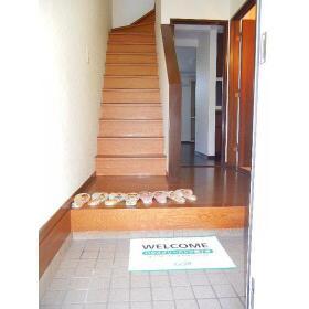 プロミネントⅢ 103号室の玄関