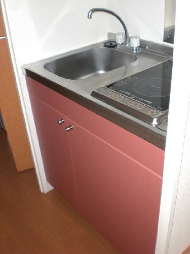 レオパレスヴィラ天城 104号室のキッチン