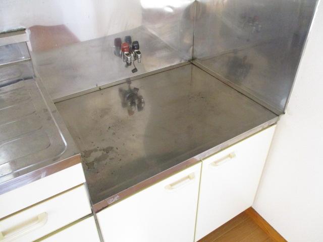 第10もえぎ野ハイツ 201号室のキッチン