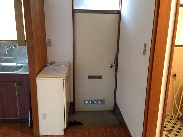 第3もえぎ野ハイツ 102号室の玄関