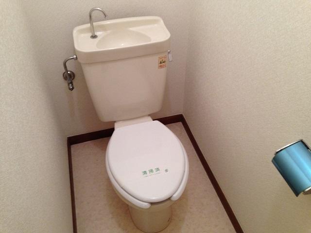第3もえぎ野ハイツ 102号室のトイレ