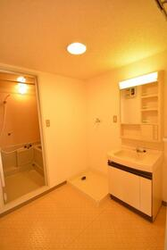 サンフラワー 303号室の洗面所