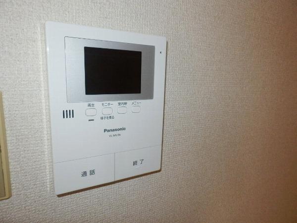 グリーンシャトル 301号室のセキュリティ