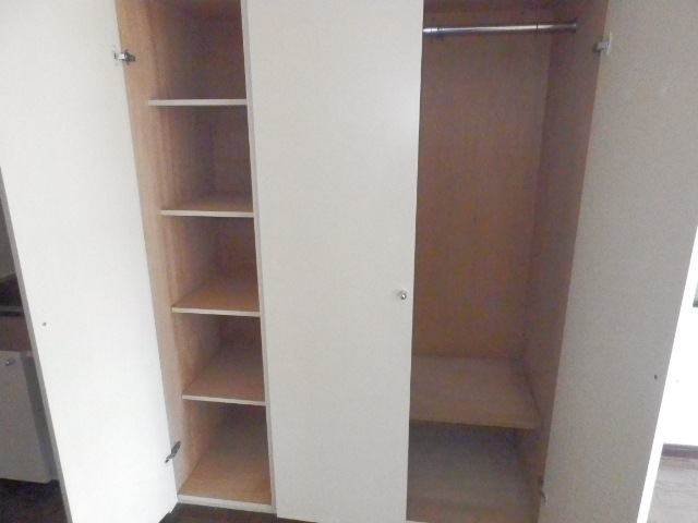 オーケービル 201号室の収納