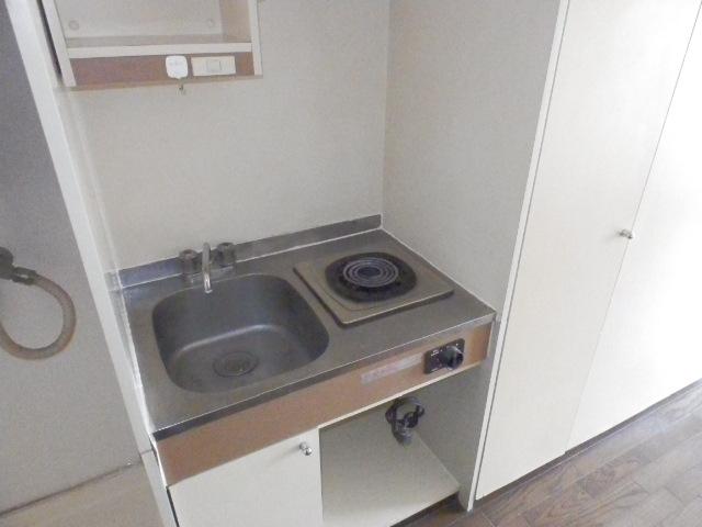 オーケービル 201号室のキッチン