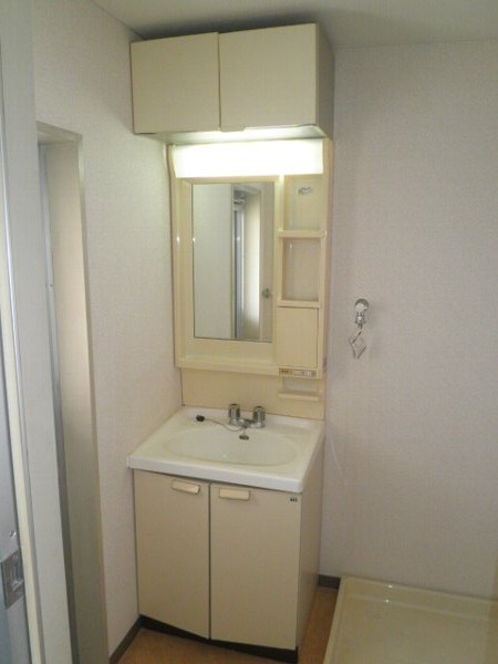 グラースHY 302号室の洗面所