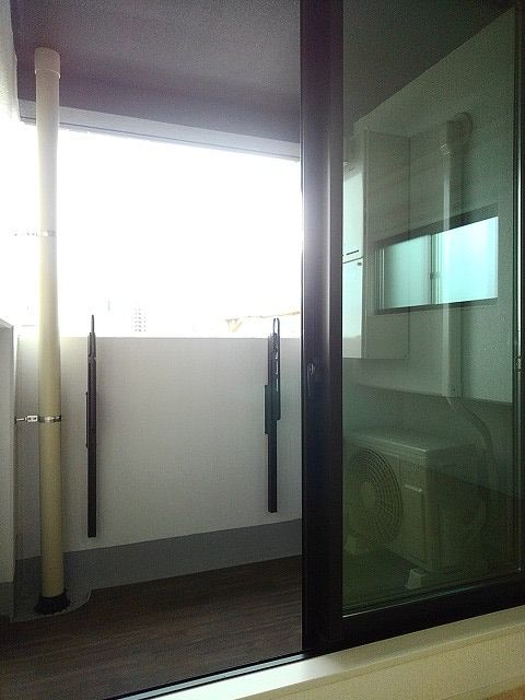 ステーション シン 04040号室のバルコニー