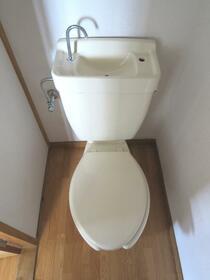 三晃ハイツ 202号室のトイレ