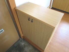 三晃ハイツ 202号室の玄関