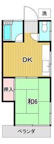 誠芳ハウス 202号室の間取り