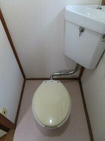誠芳ハウス 202号室のトイレ