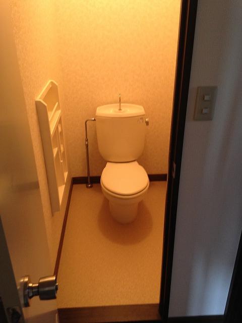フレグランス花村A棟 102号室のトイレ