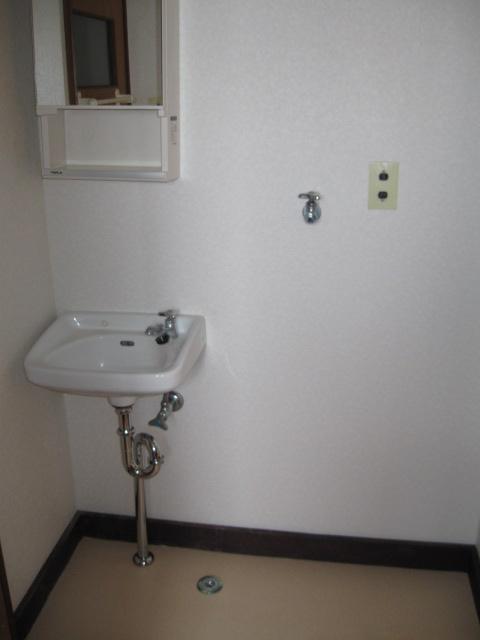 小吹ハイツ 202号室の洗面所