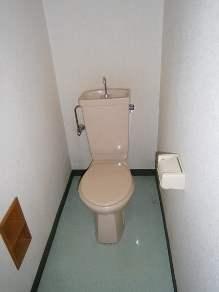 エクセルK 102号室のトイレ