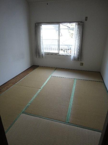 エクセルK 202号室のベッドルーム