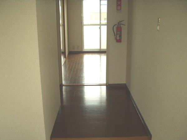 ヴィラエスポワール 202号室の玄関