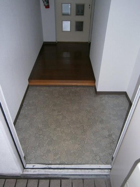 ヴィラエスポワール 303号室の玄関