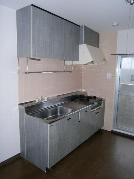 ヴィラエスポワール 303号室のキッチン