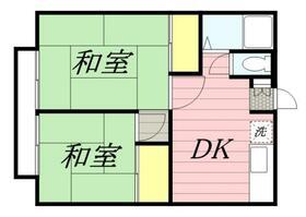 ハイネス生田・0201号室の間取り