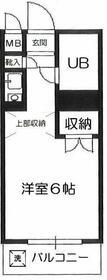 レヂオンス西武柳沢 206号室の間取り