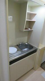 レヂオンス西武柳沢 206号室のキッチン