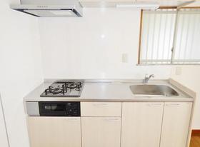 サンライズ青葉台 201号室のキッチン