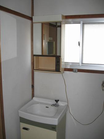 村田ハイツ(みたけ台) 202号室の洗面所