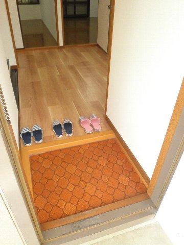 シティハイム松田 101号室の玄関