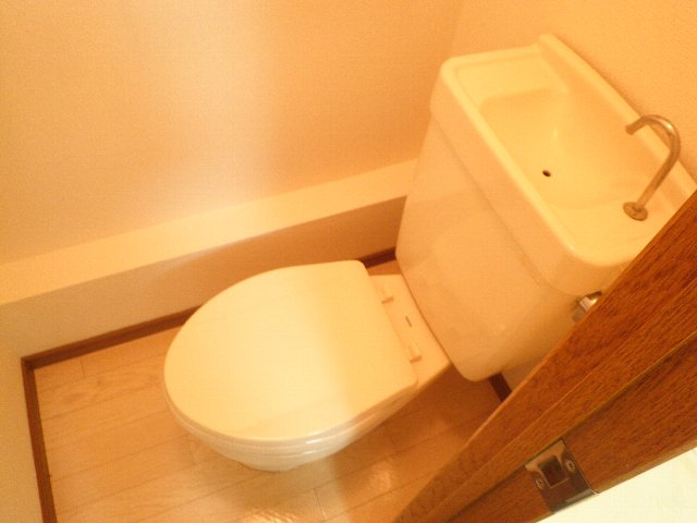 シティハイム松田 101号室のトイレ