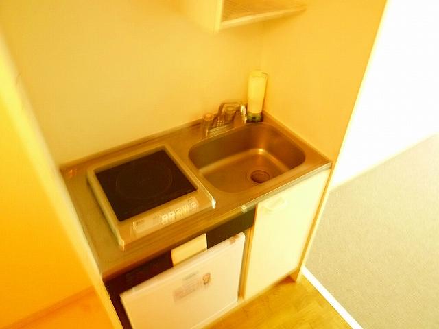 シェルブールBA 104号室のキッチン