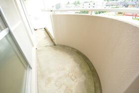 サンフラワー 402号室のバルコニー
