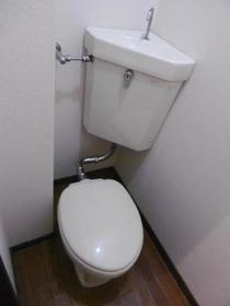 ヒルサイドメゾンA棟 102号室のトイレ
