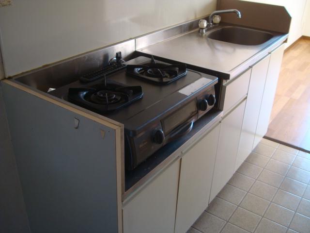 雅ハウス 107号室のキッチン