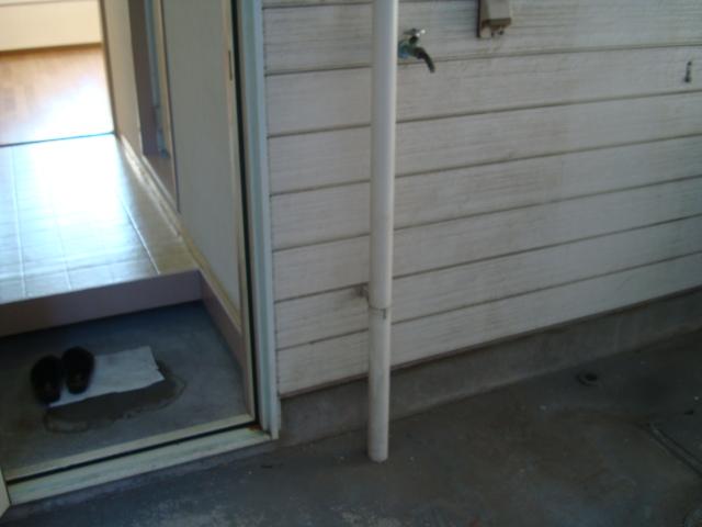 雅ハウス 107号室の玄関