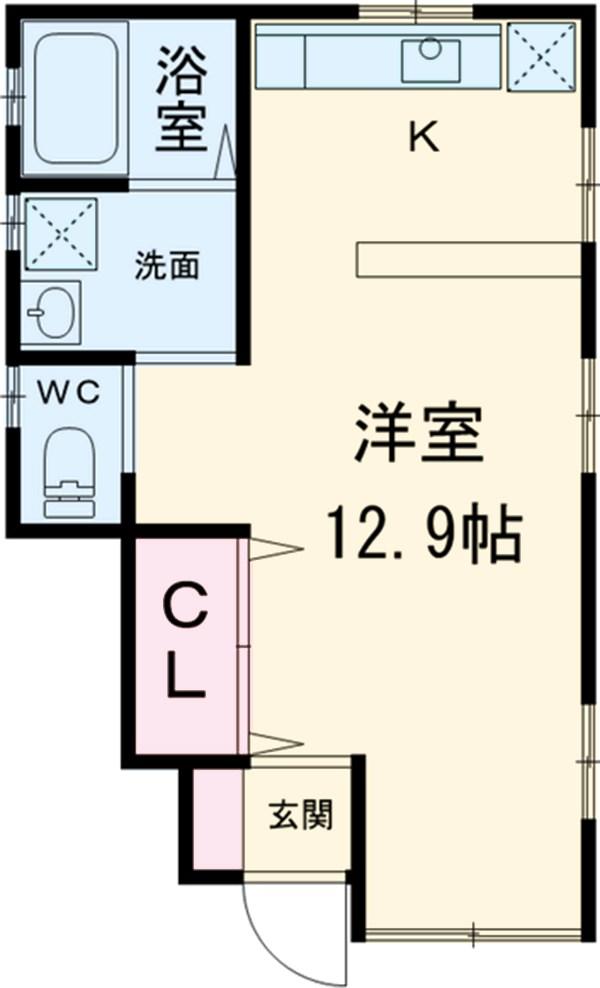 リーフォンハイムⅡ・101号室の間取り