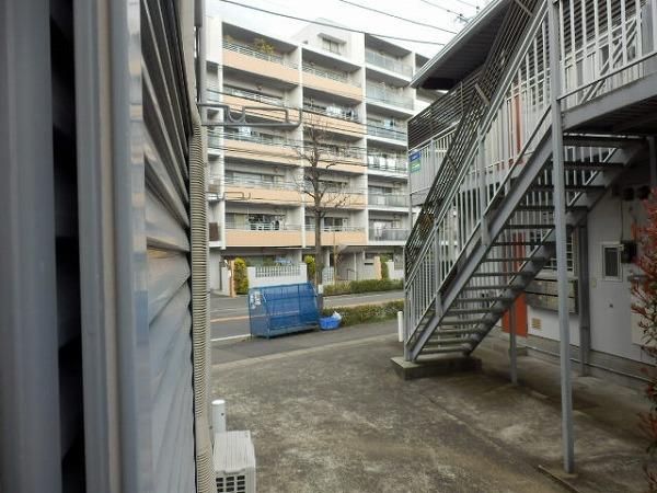 カエデハイツA 102号室の景色
