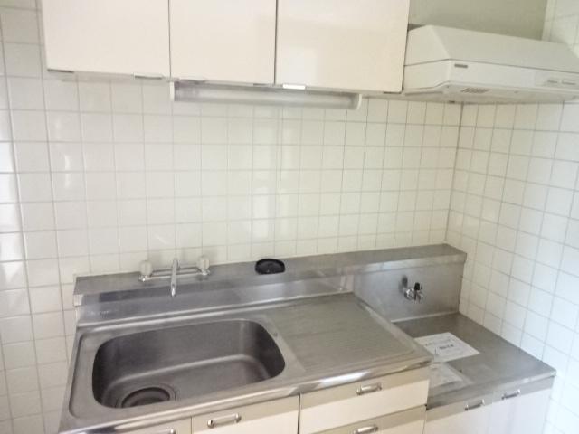 瑞江サングリーンビル 403号室のキッチン