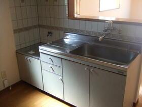 メゾン.ド.ブランA 202号室のキッチン